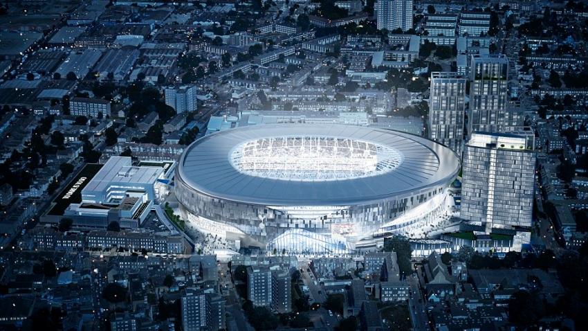 Đồ họa mô phỏng vẻ đẹp SVĐ mới của CLB Tottenham