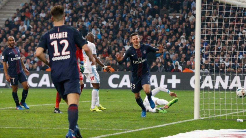 Marseille 1-5 PSG (Vòng 27 Ligue 1 2016/17)