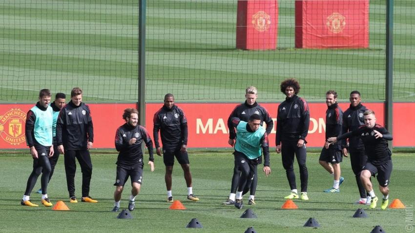 Dàn sao M.U hào hứng tập luyện trước ngày trở lại Champions League