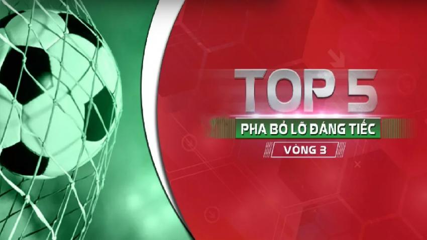 Năm pha bỏ lỡ vòng 3 V-League 2018