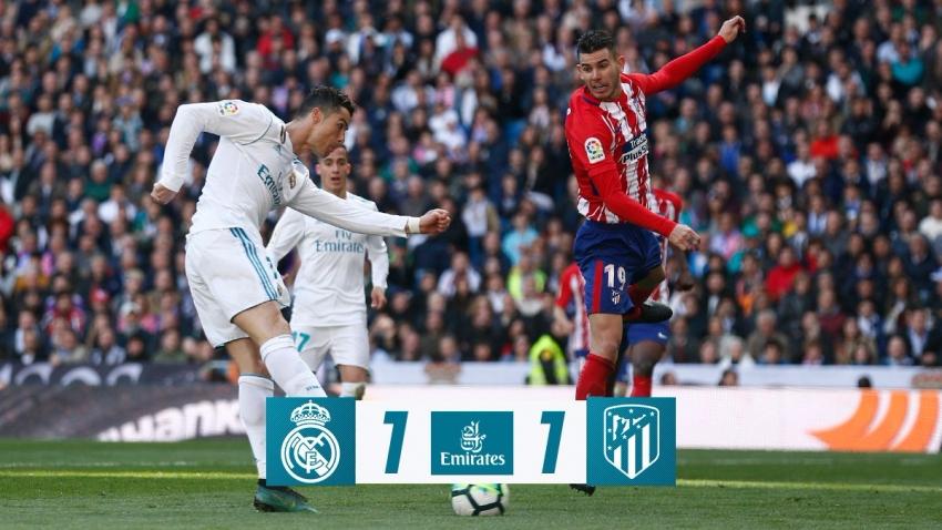 Real 1-1 Atletico (Vòng 31 giải La Liga)