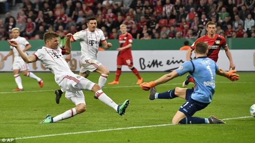 Bayer Leverkusen 2-6 Bayern Munich (Bán kết Cup Quốc gia Đức 2017/18)