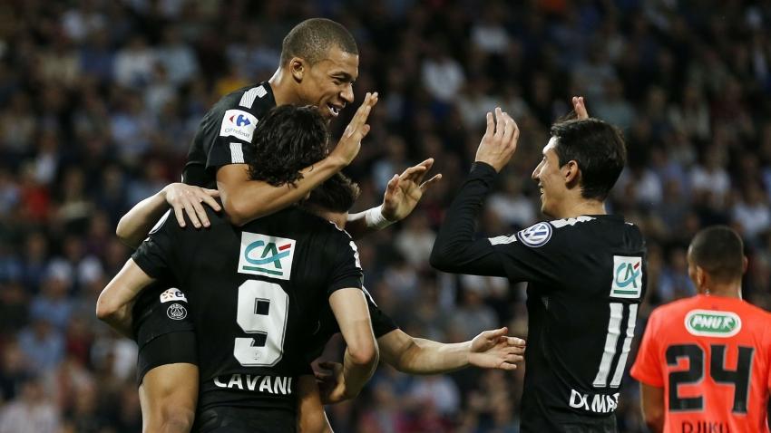 Caen 1-3 PSG (Bán kết Cup Quốc gia Pháp 2017/18)
