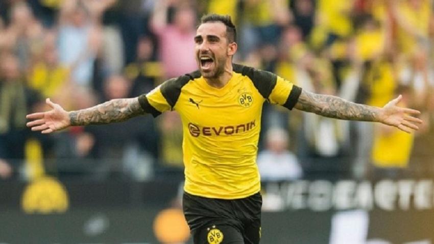 Paco Alcacer ghi 6 bàn trong 81 phút cho Dortmund