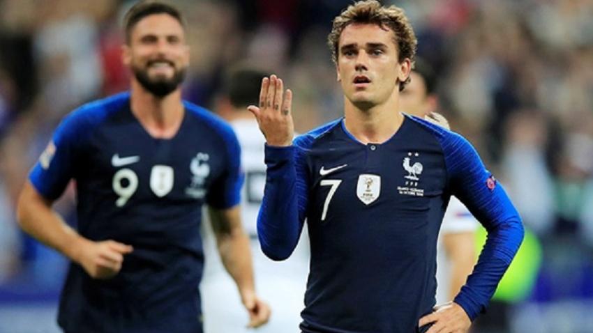 Những hình ảnh nổi bật trong trận đấu Pháp - Đức