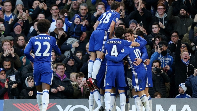 Chelsea 3-0 Bournemouth: Nấc thang thứ 12