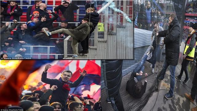 Hooligan lại bùng phát ở Nga