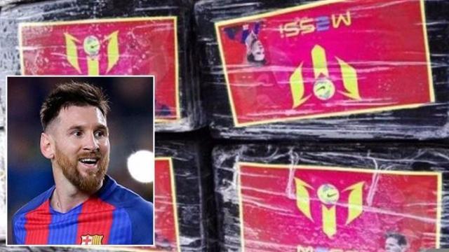 """Messi bị làm """"vỏ bọc"""" cho hơn nửa tấn cocain"""