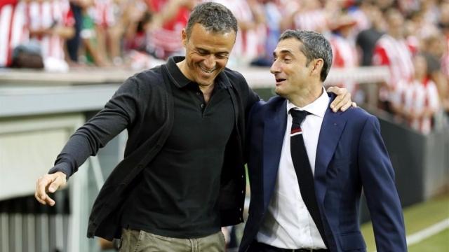 Người cũ Barca chuẩn bị lên thay Luis Enrique