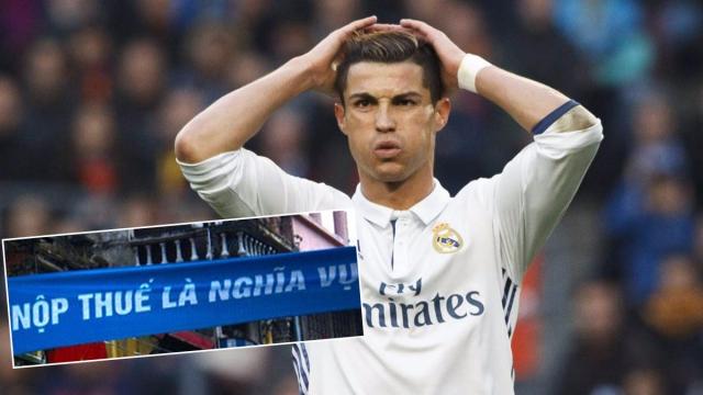 SỐC: Sau Messi, đến lượt Ronaldo gian lận thuế