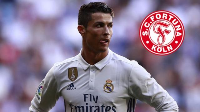 """Đội bóng hạng Ba Đức dùng """"độc chiêu"""" mời gọi Ronaldo"""