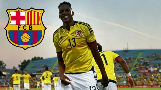 Barca đạt thỏa thuận chiêu mộ tuyển thủ Colombia