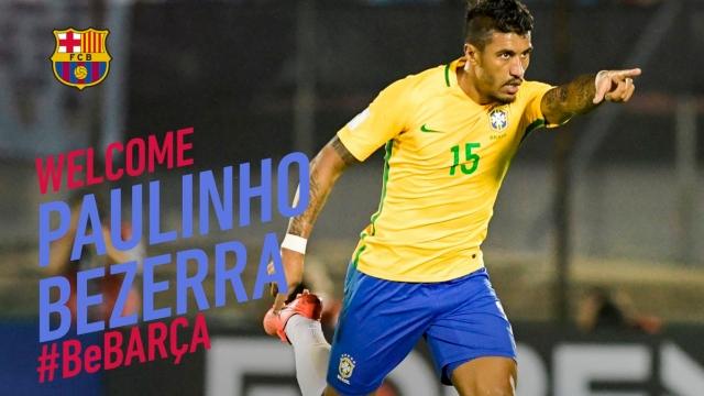 Paulinho và hành trình điên rồ từ Tottenham tới Barca