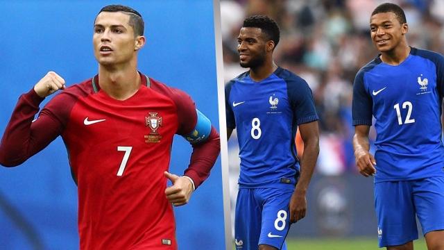 Vòng loại World Cup châu Âu: Pháp chiếm ngôi đầu, Ronaldo lập kỉ lục