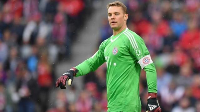 Bayern mất Neuer đến hết năm