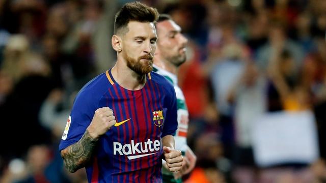 Messi đang hay chưa từng thấy ở La Liga