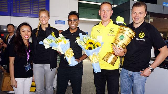Dortmund mang hệ thống đào tạo trẻ đến Việt Nam
