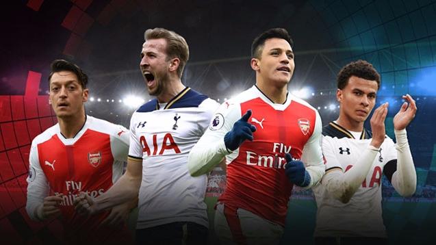 """NHA trước vòng 12: Tottenham đại chiến Arsenal, MU đi tìm """"dáng Quỷ"""""""