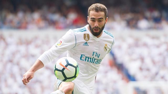 Carvajal mang điềm lành cho Real ở derby Madrid