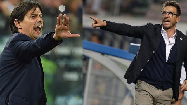 Roma vs Lazio: Chờ màn đấu trí Di Francesco - Simone Inzaghi