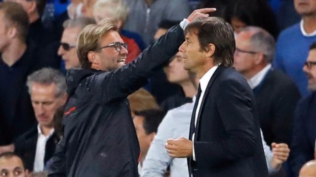 Klopp vs Conte lại