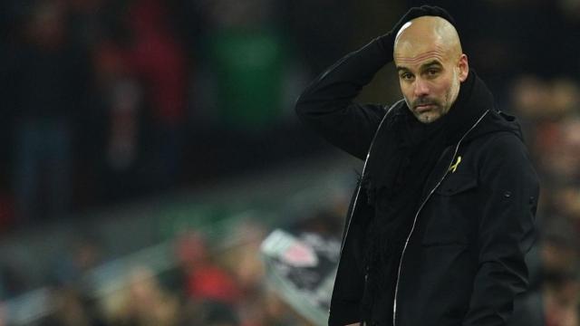 Guardiola: 'Chúng tôi bị cuốn vào không khí sân Anfield'