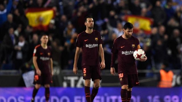 Thua Espanyol là cần thiết cho Barca