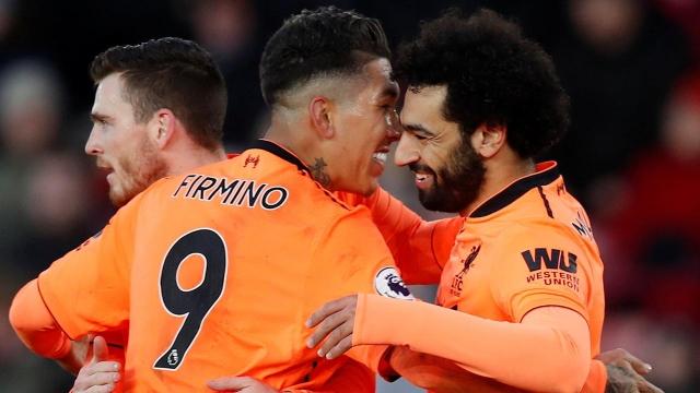 Liverpool trở lại vị trí thứ ba, chỉ kém Man Utd hai điểm