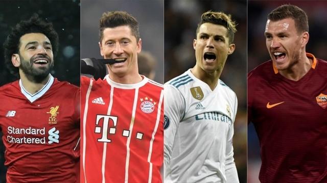 So sánh 4 mũi nhọn vòng bán kết Cúp châu Âu: Ronaldo, Salah vượt trội