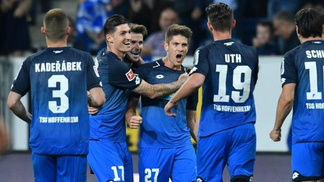Hoffenheim vào top 4 Bundesliga, mơ về Champions League