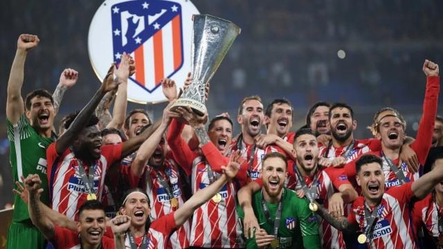 Atletico đè bẹp Marseille, vô địch Europa League