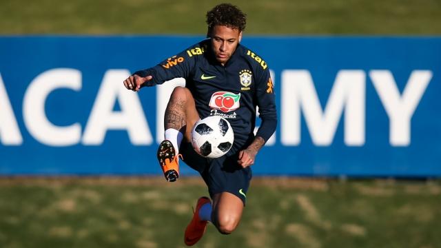 Trở lại luyện tập, Neymar sẵn sàng cho World Cup 2018