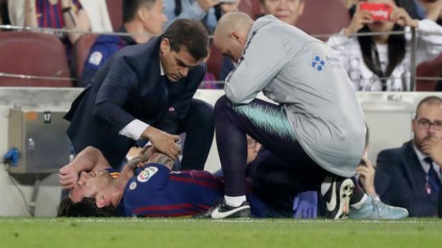 Messi bó bột vẫn tươi roi rói, HLV Barca lo Inter gây sốc ở Nou Camp