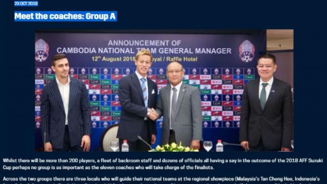 """""""Già gân"""" Park Hang Seo dự AFF Cup: Siêu sao Honda chỉ là tay mơ"""