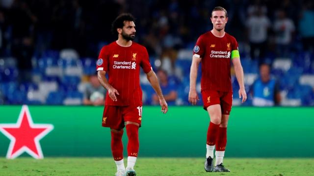 Liverpool thua trận mở đầu C1 trước Napoli