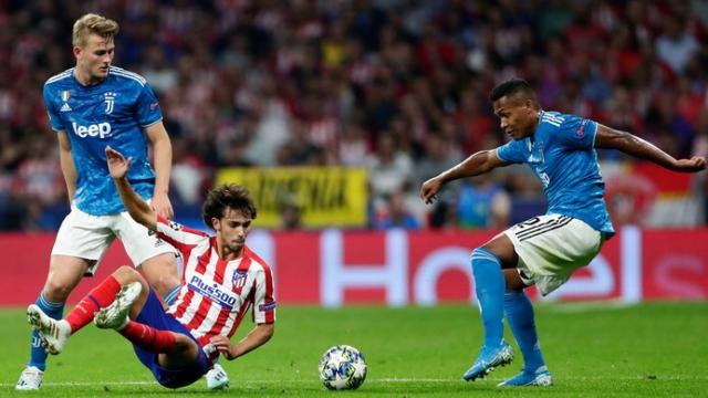 Atletico khiến Juventus cưa điểm phút cuối