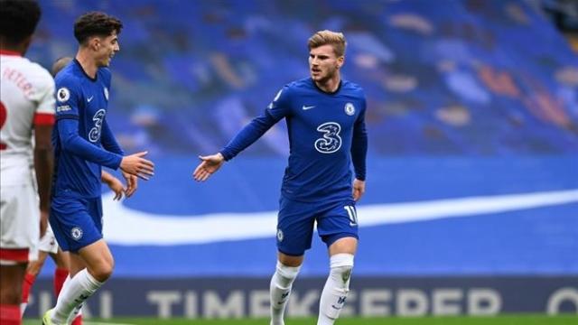 Chelsea 3-3 Southampton: Công dã tràng của Werner